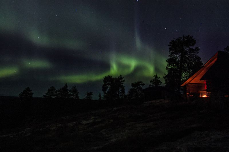 Northern Lights Hunting By Car
