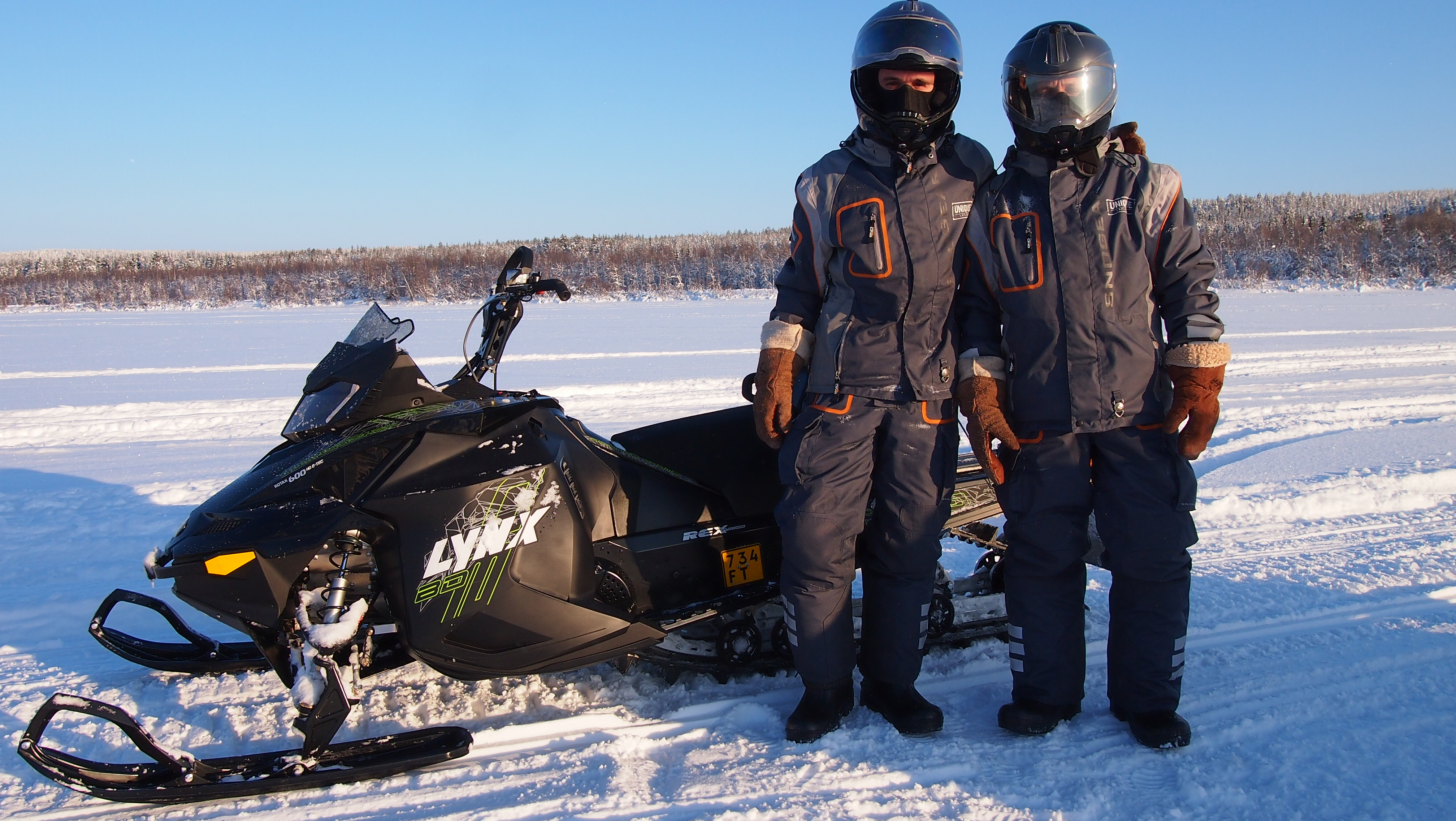 Snowmobile Safari To Reindeer Farm