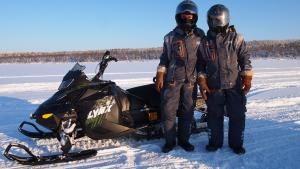 Snowmobiles safari
